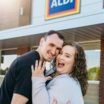 This Couple Loves Aldi SO MUCH, It's Where They Took Engagement Photos