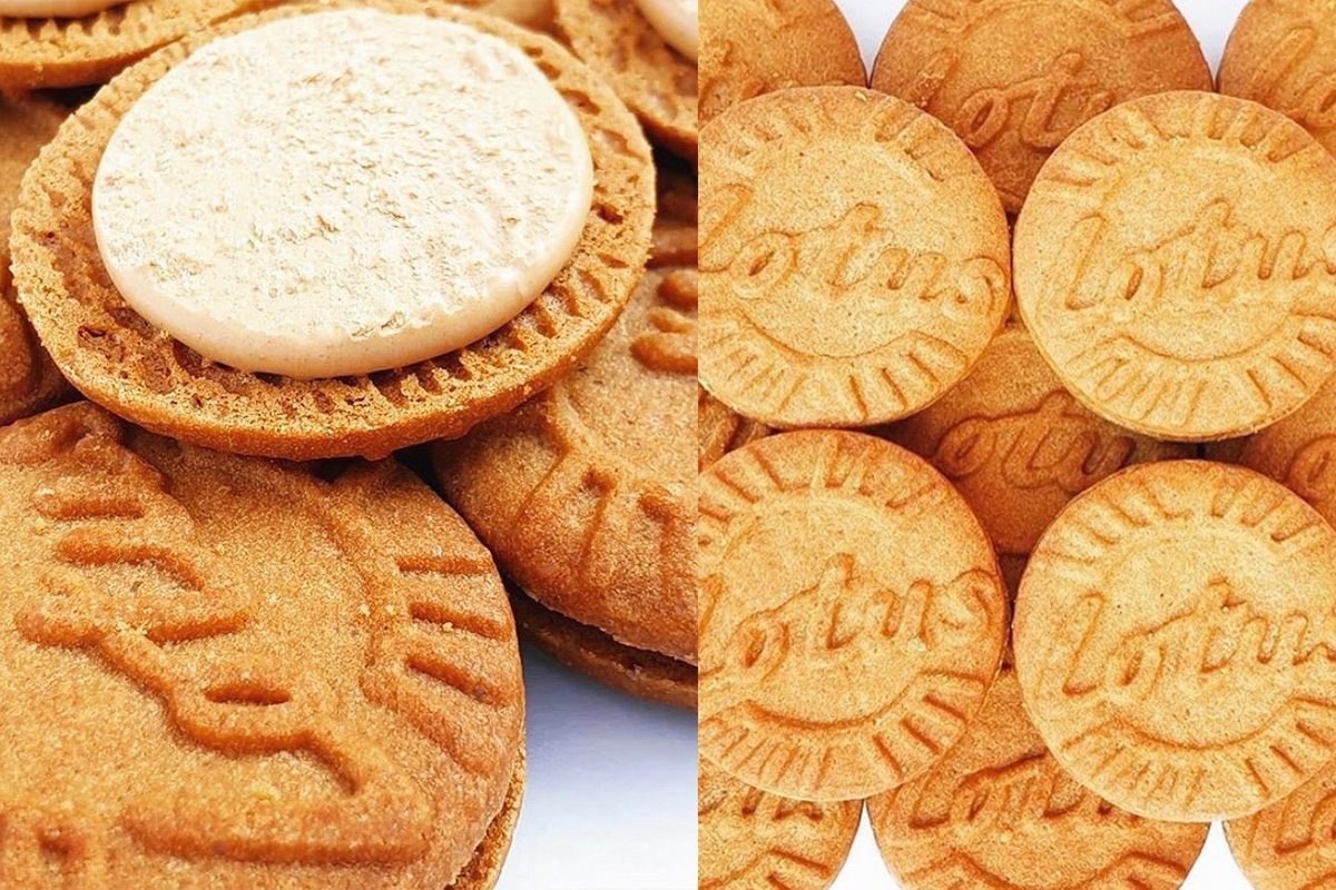 New Lotus Biscoff Filled Cookies
