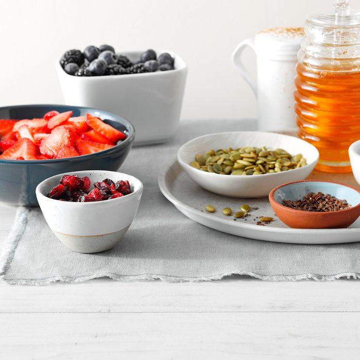 Bowl toppings