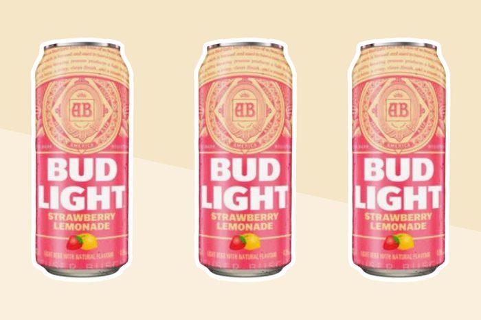 Bud Light's new Strawberry Lemonade Beer