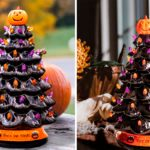 This Ceramic Halloween Tree Is So Cute It's SPOOKY—Here's Where to Find Yours