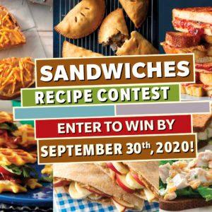Sandwiches Recipe Contest