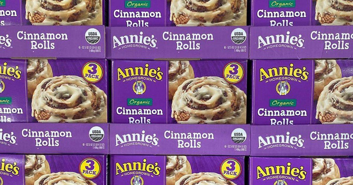 Costco Is Selling HUGE Boxes of Annie's Cinnamon Rolls, So Breakfast Is Served