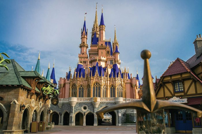 Disney Cinderella's new castle makeover