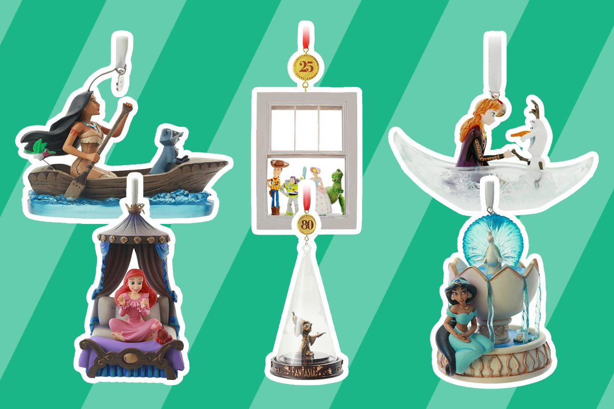Disney Sketchbook ornaments collection