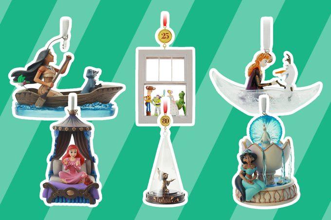 Disney Sketchbook ornaments collection