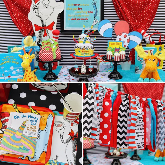 Dr. Seuss first birthday party ideas