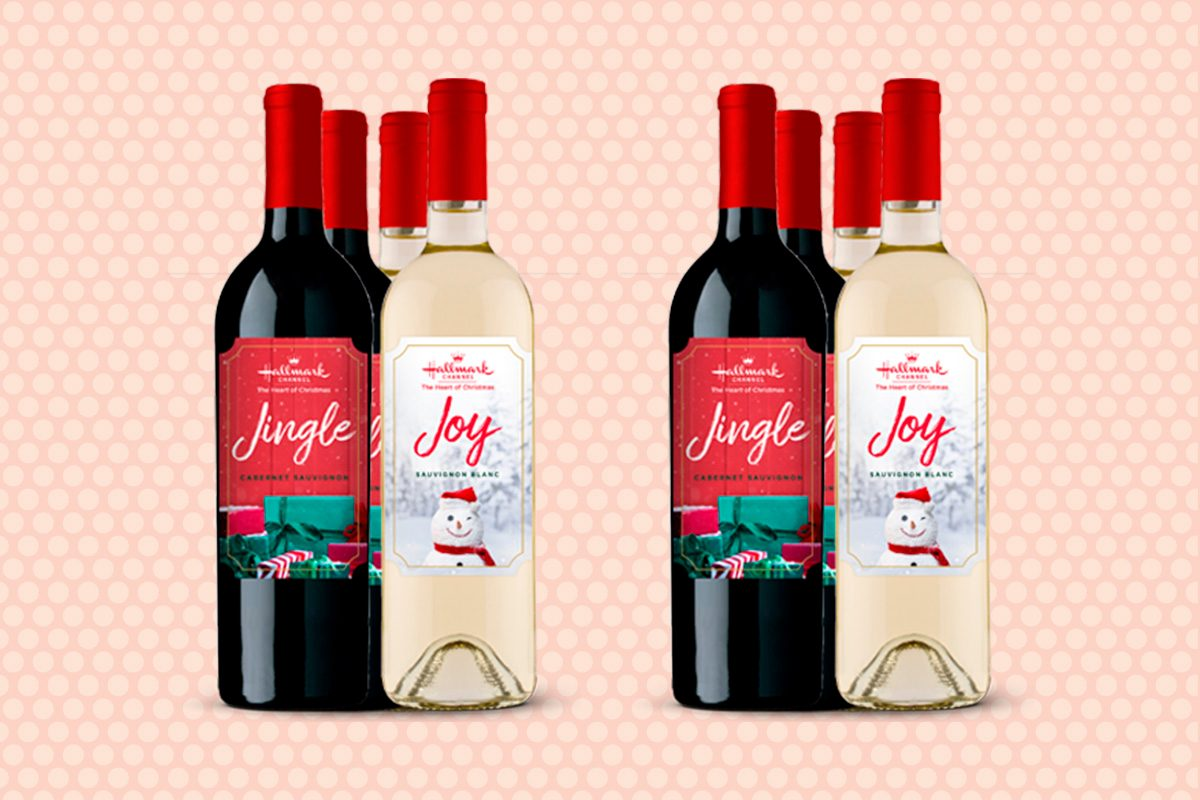 Hallmark Channel's new holiday wines