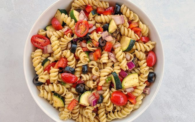 how to make vegan pasta salad How To Make Quick And Easy Vegan Pasta Salad 1
