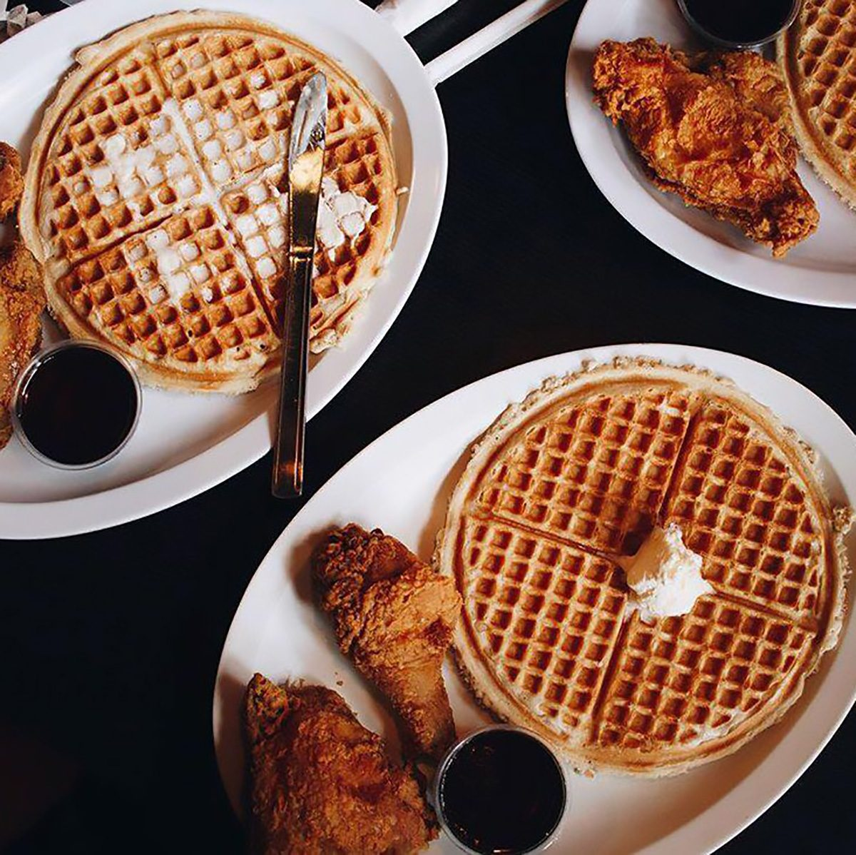 Best waffles in the state of Illinois