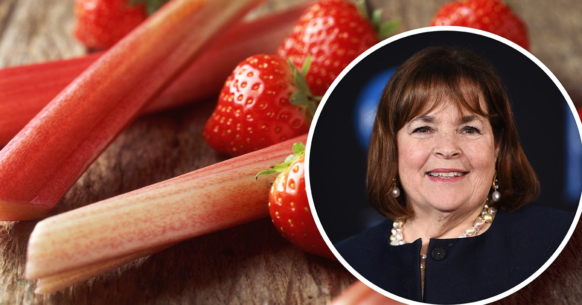 We Tried Ina Garten's Famous Strawberry Rhubarb Crisp
