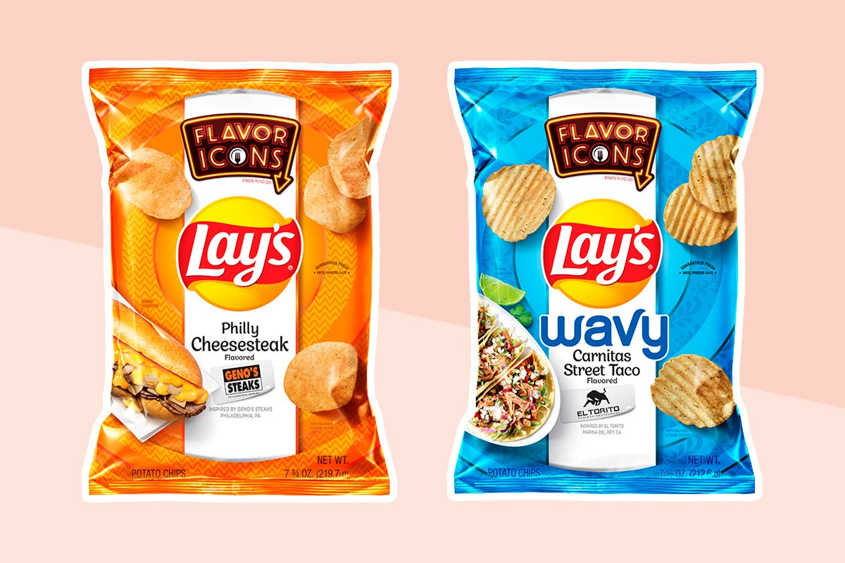 Lay's new Flavor Icons flavors cutouts