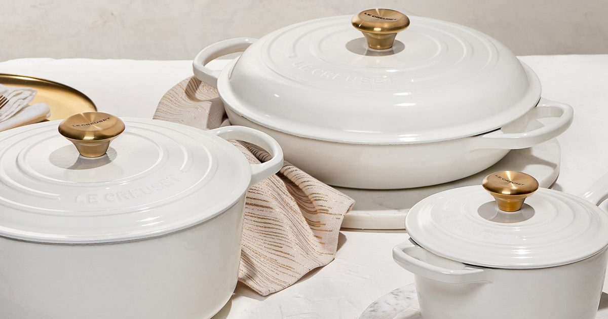 Le Creuset Just Rolled Out the Prettiest Collection We NEED to Get Our Hands On