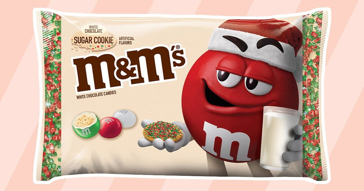 Christmas Mini M&Ms Recall 2020 Sugar Cookie M&M's Are Brand New for Christmas 2020   Taste of Home