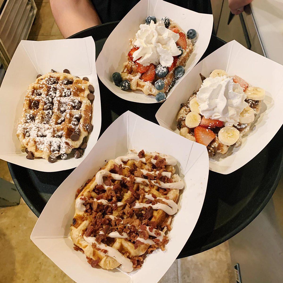 The best waffles in North Carolina