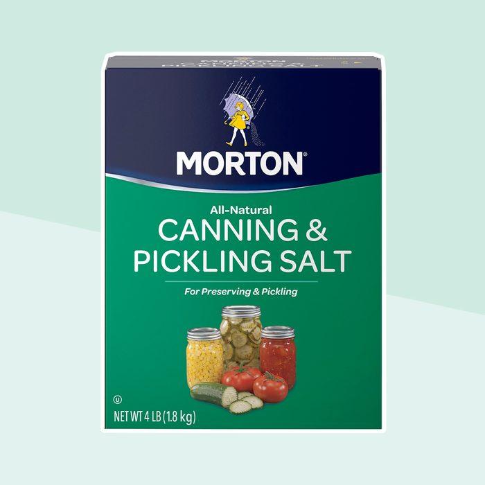 (2 pack) Morton Canning & Pickling Salt, 4 Lbs