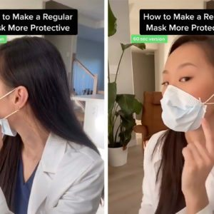 How to Properly Wear a Face Mask, According to Dr. Olivia Cuid