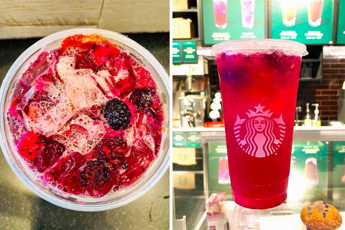 Starbucks Fruit Punch secret menu drink