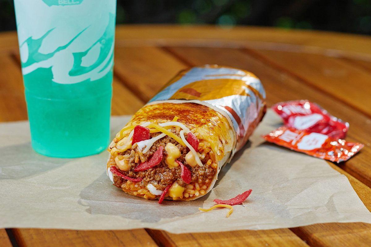 Taco Bell new Grilled Cheese Burrito