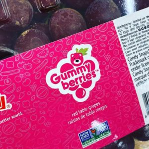 Trader Joe's Is Selling Gummy Bear-Flavored Grapes That Taste JUST Like the Real Thing
