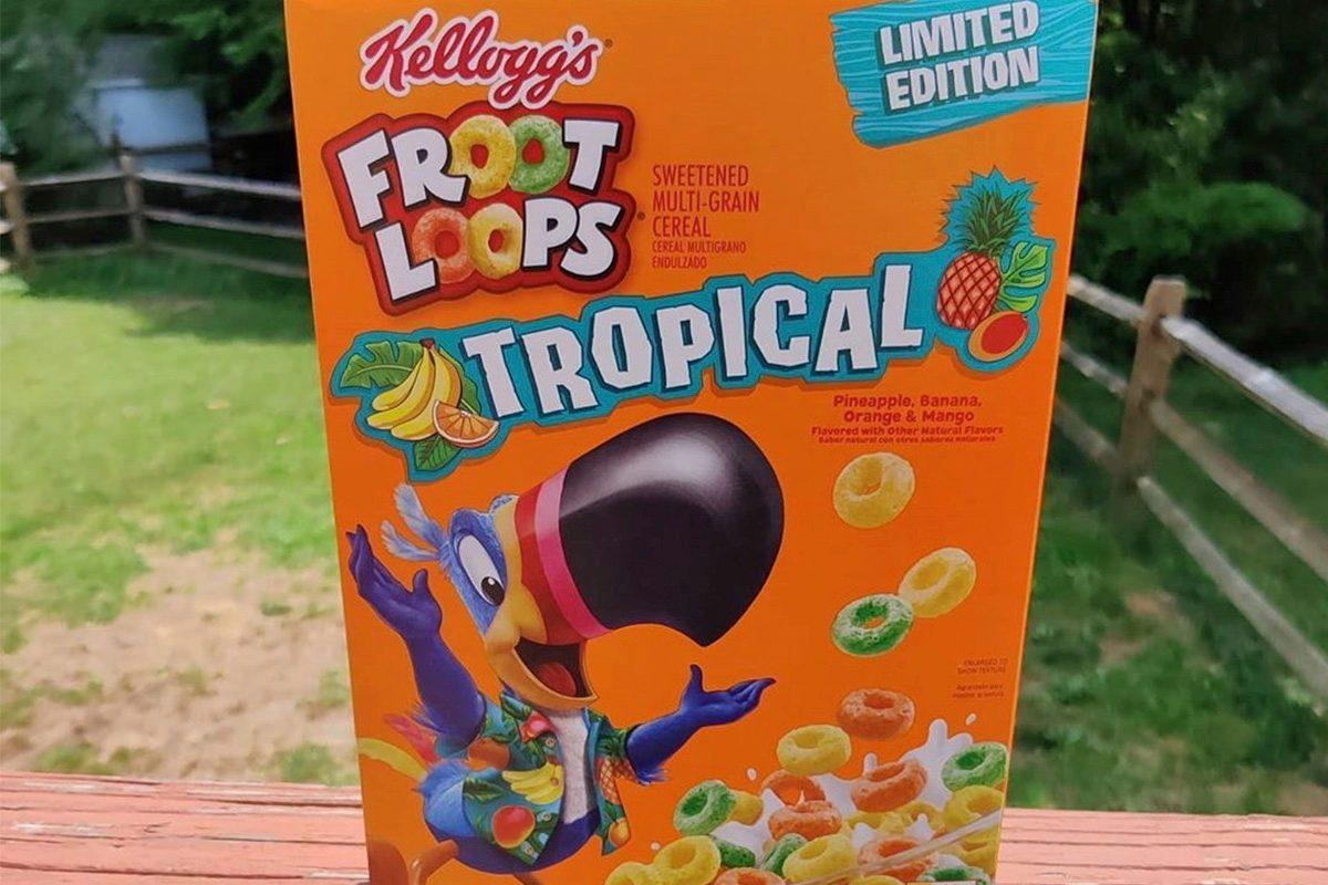 Kellogg's Tropical Froot Loops