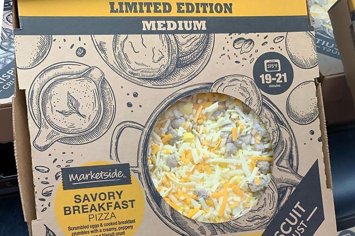 Walmart savory breakfast pizza