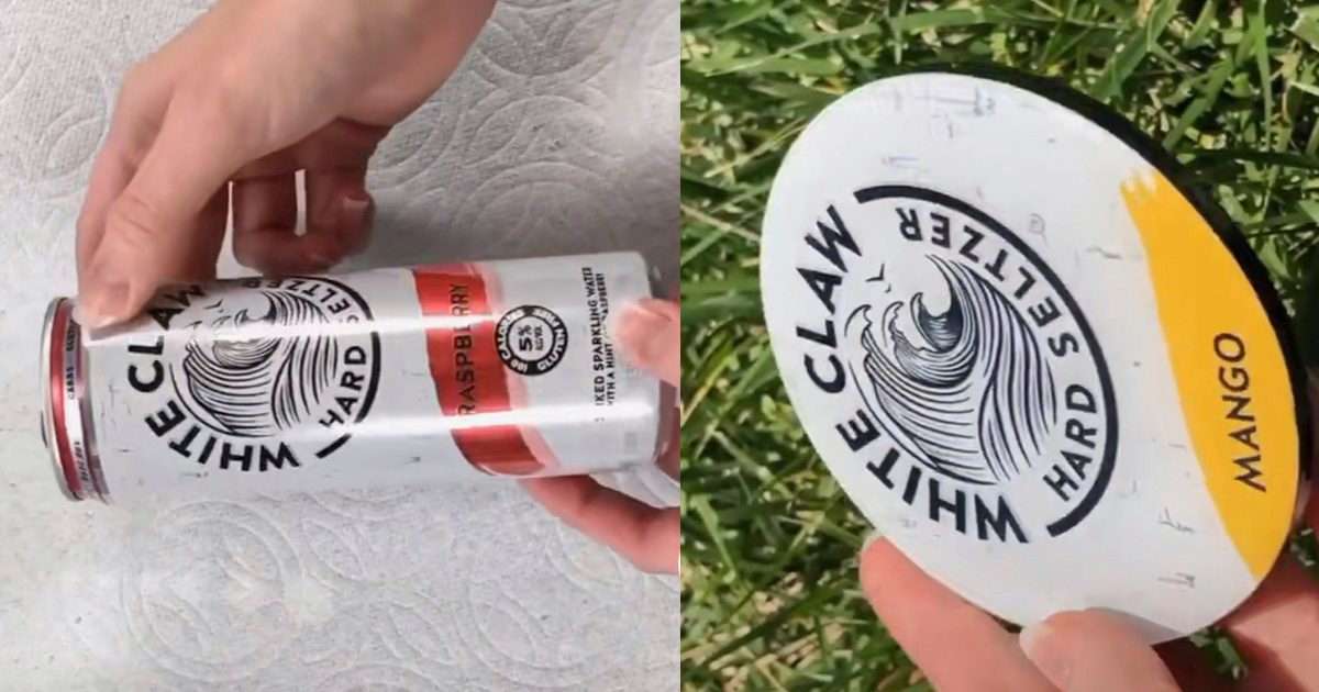 People Are Turning White Claws Into Beautiful Coasters with This Easy TikTok Tutorial