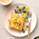 Cheesy Cauliflower Breakfast Casserole