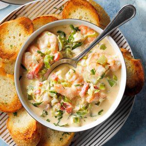 Hot Creole Shrimp Dip