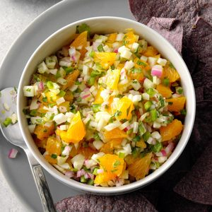 Fennel-Orange Salsa