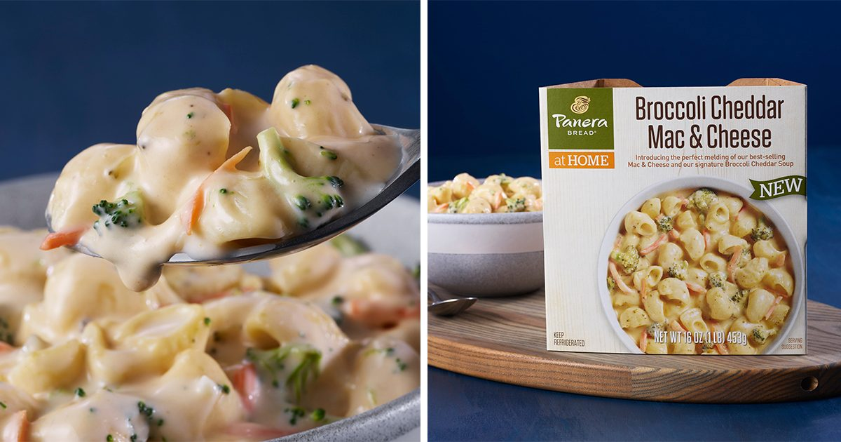Panera JUST Rolled Out Broccoli Cheddar Mac and Cheese