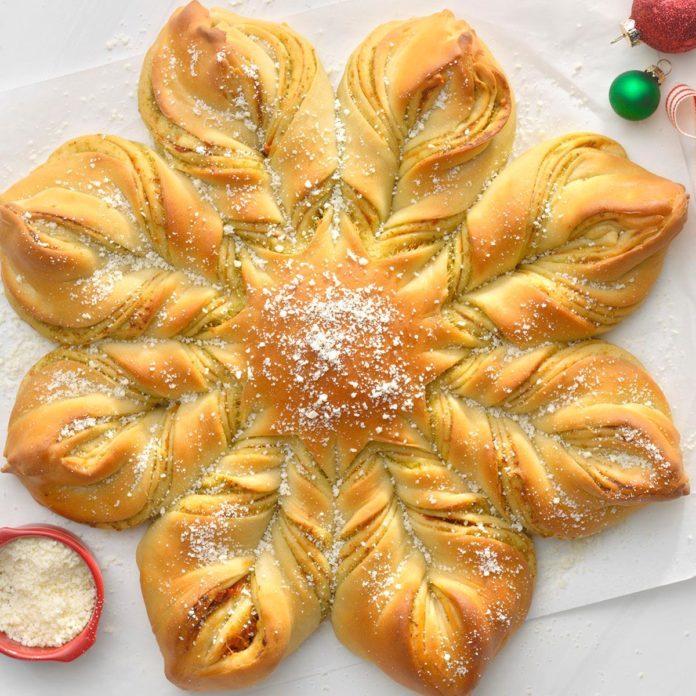 Pesto Star Bread