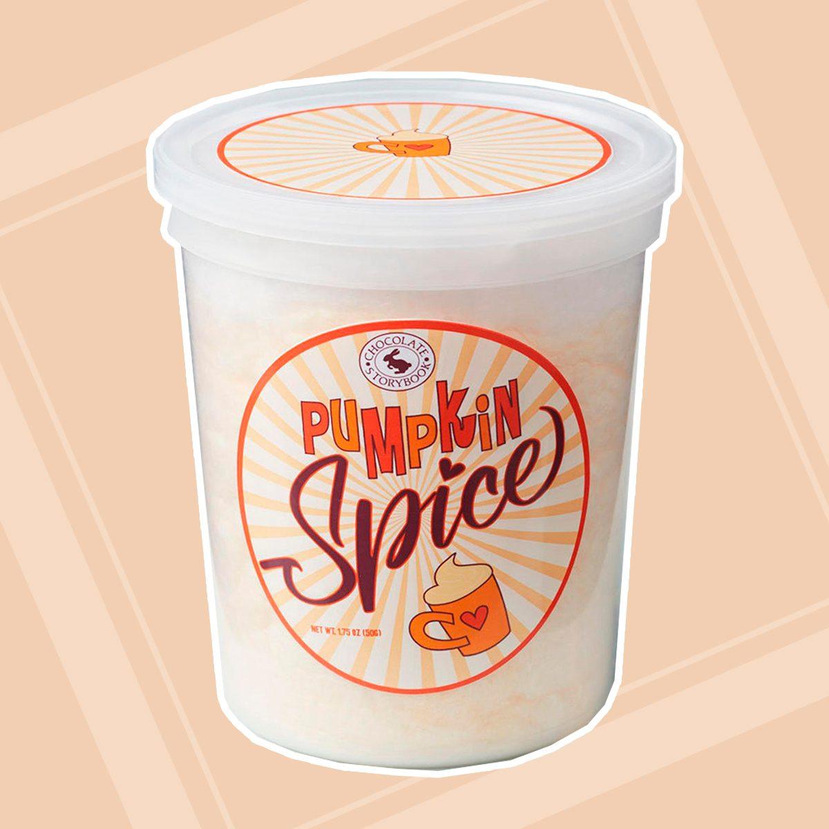Pumpkin Spice Cotton Candy