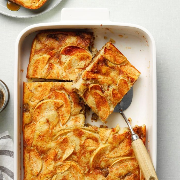 Sausage and Pancake Casserole