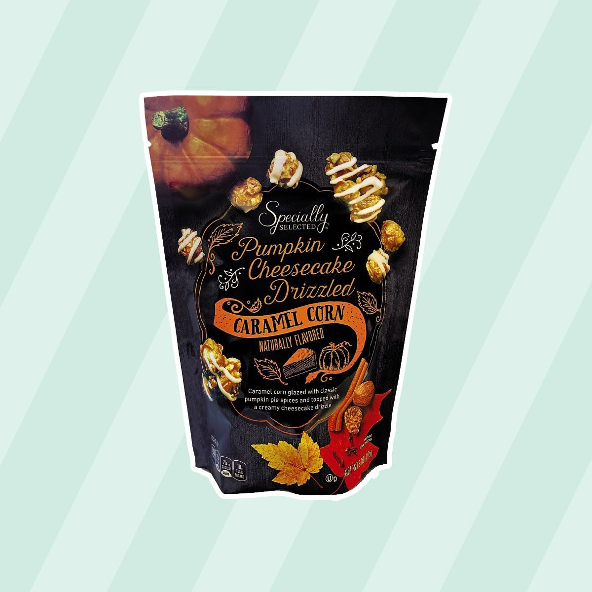 Specially Selected Pumpkin Cheesecake Drizzled Caramel Corn