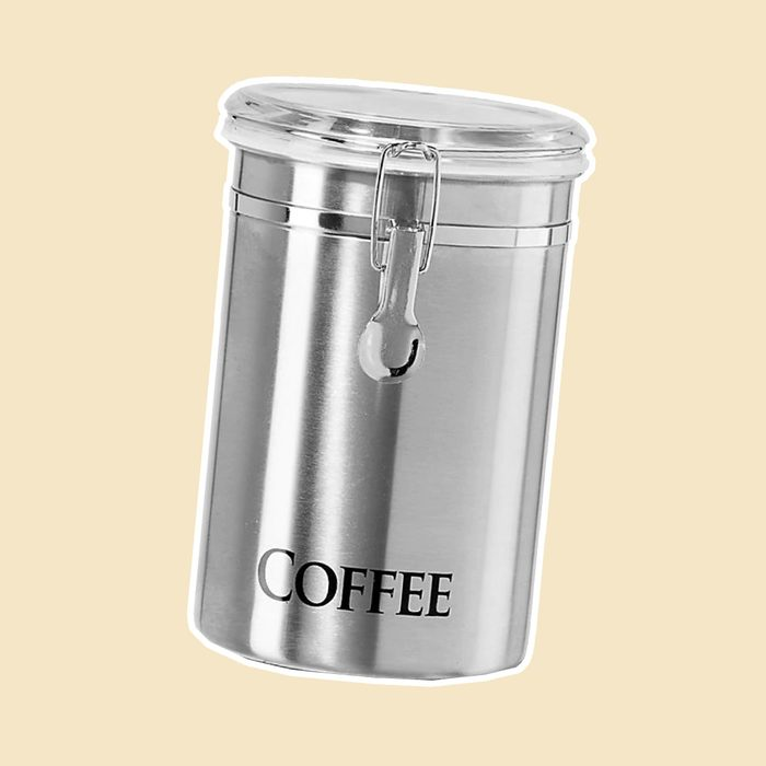 """Oggi™ 62 fl. oz. Stainless Steel """"Coffee"""" Canister"""