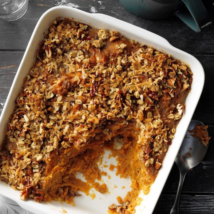 Banana-Orange Sweet Potato Bake