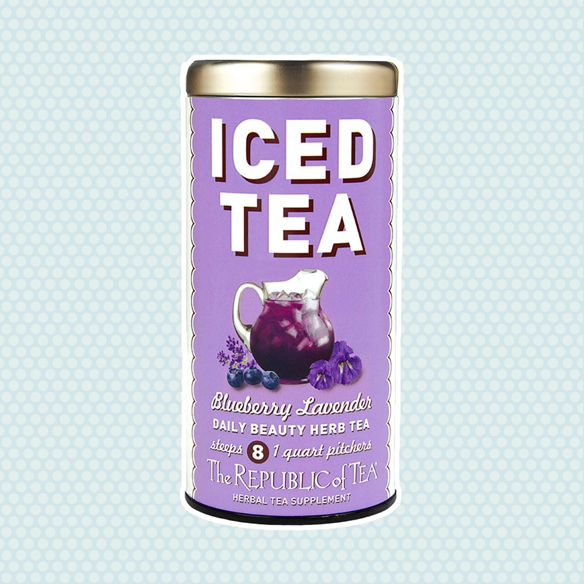 Blueberry Lavender Daily Beauty Iced Tea Pouches
