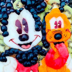 This Mom Makes Disney-Inspired Fruit Plates for Her Son—and the Photos Are INCREDIBLE