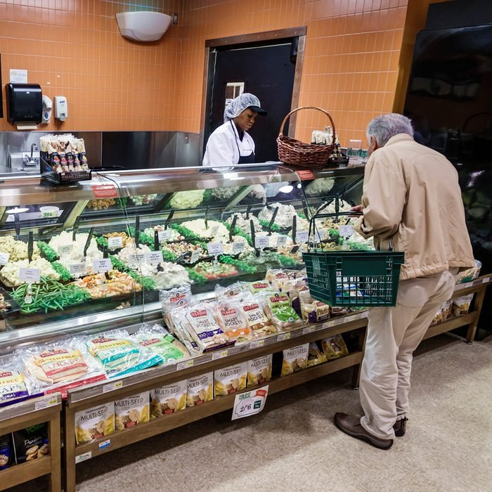 Florida, Sunny Isles Beach, Milam's Supermarket deli counter. (Photo by: Jeffrey Greenberg/Education Images/Universal Images Group via Getty Images)