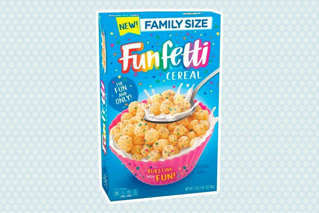 Funfetti Cereal cutout