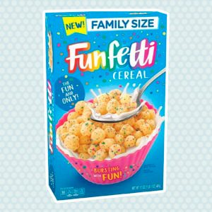 Funfetti Cereal Is Coming in TWO WEEKS—Here's Where to Find a Box