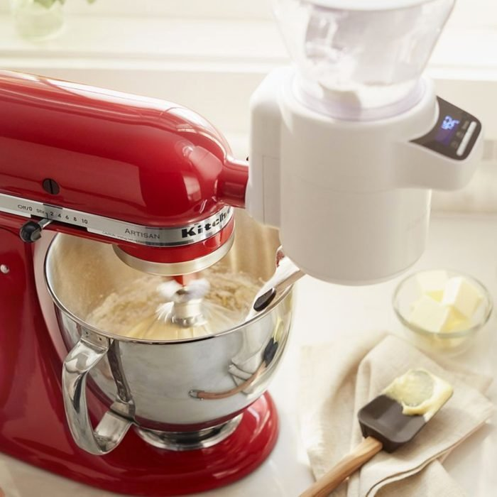Stand Mixer Sifter + Scale Attachment