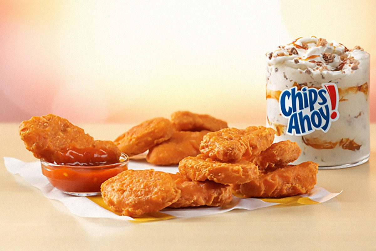 Spicy Chicken McNuggets® and Mighty Hot Sauce and new McFlurry® flavor