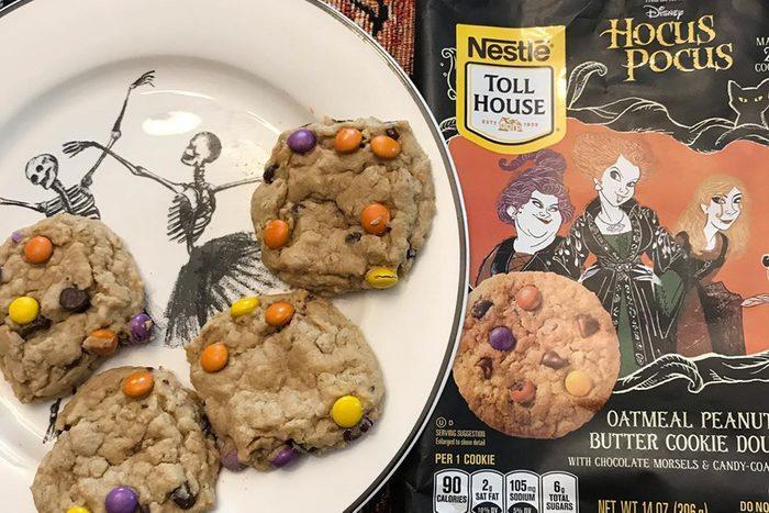 Nestle Toll House Hocus Pocus themed cookie dough