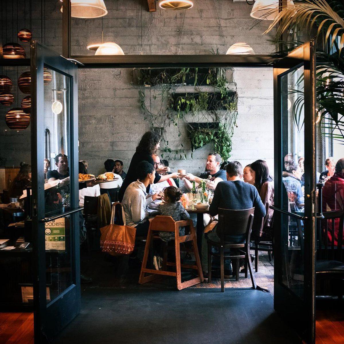 Best vegetarian restaurant in Washington Plum Bistro