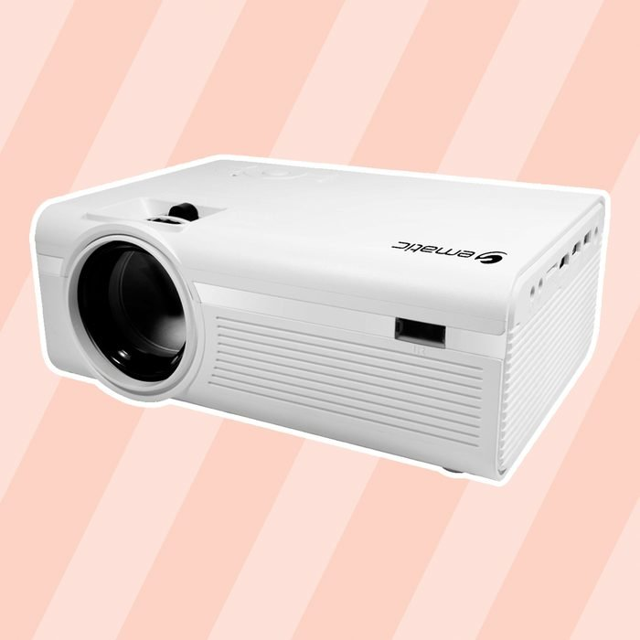 Ematic - EPJ590WH LCD Projector - White