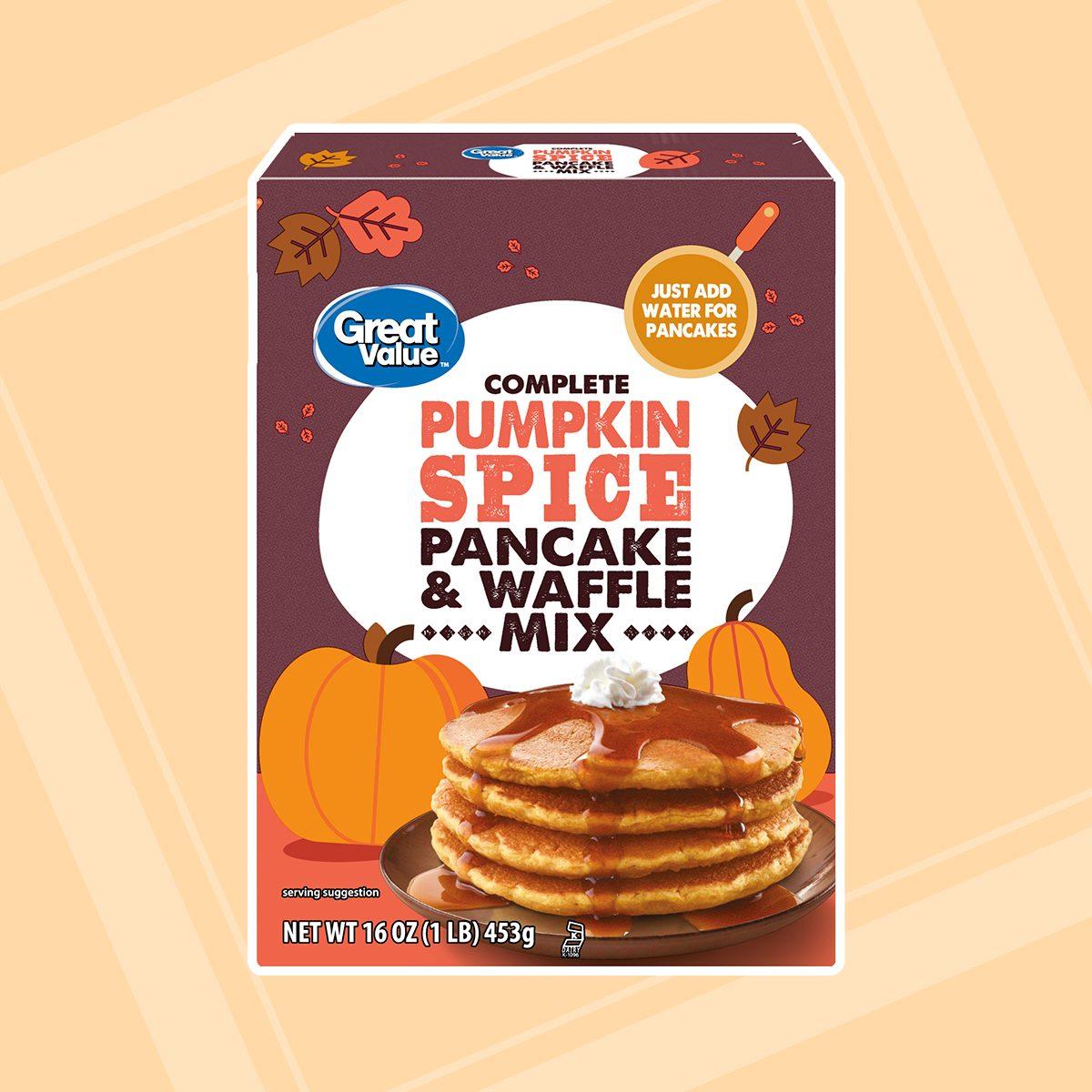 Great Value Pumpkin Spice Cookie Mix
