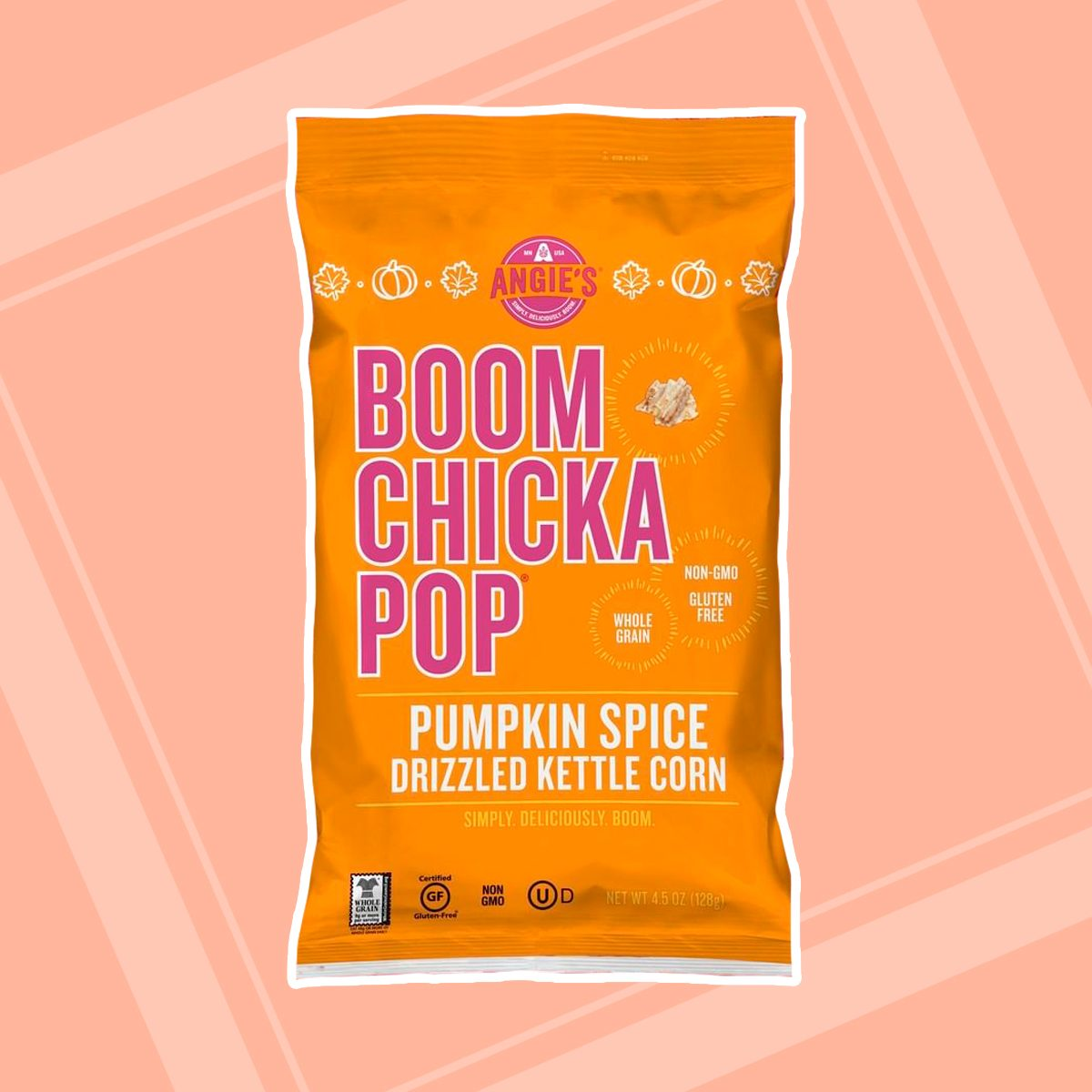Boom Chicka Pop Pumpkin Spice Drizzled Kettle Corn