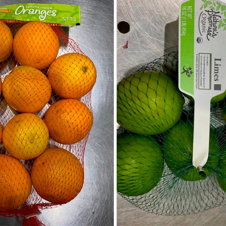 Recall on oranges and limes